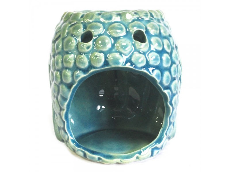Buddha Oil Burner - Blue