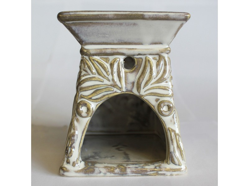 Venetian Square Scroll Design Oil Burner
