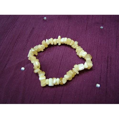 Orange Calcite Gemchip Bracelet