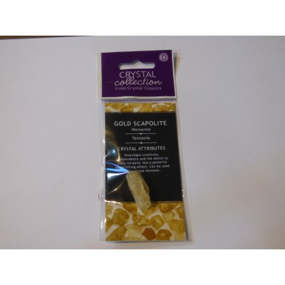 Gold Scapolite Pack D