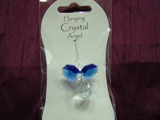 Angel Hanging Crystals