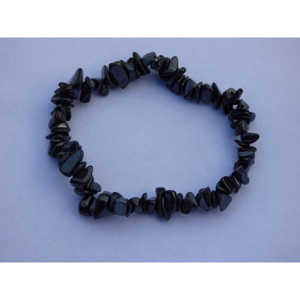 Hematite Gemchip Bracelet