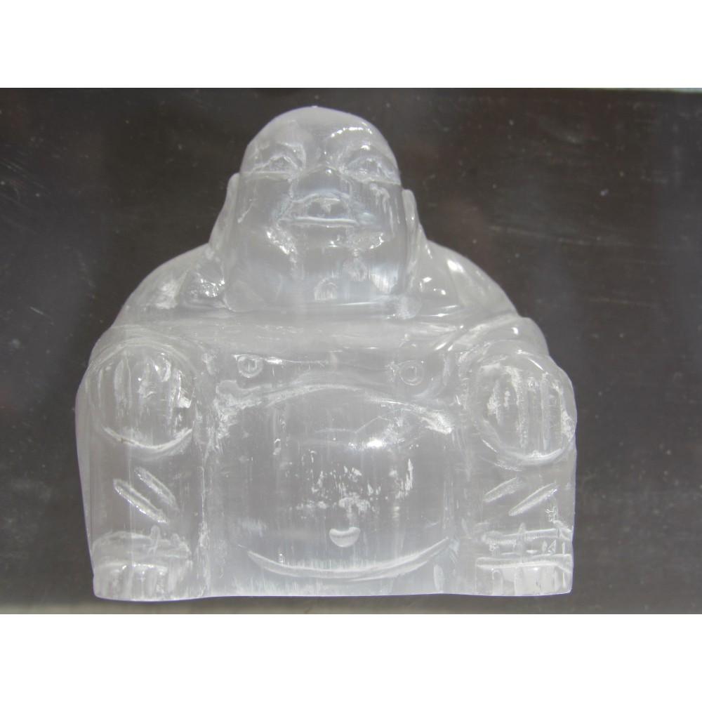 Selenite Buddha