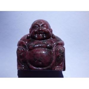 Rhodonite Buddha