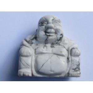 Howlite Buddha