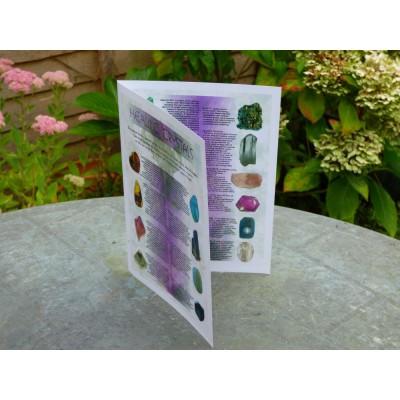 Healing Crystals Leaflet