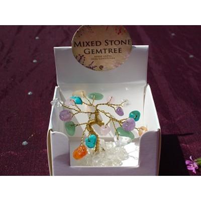 Mixed Crystals Gem Tree