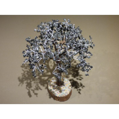 Black Leaves Agate Gem Tree approx 45 cm high