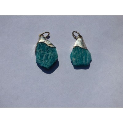 Amazonite Earring Pair - ref. a15