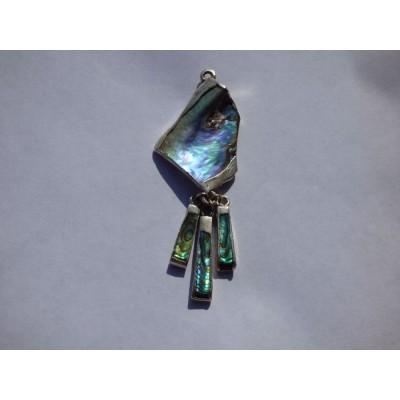 Abalone Multi-Drop pendant