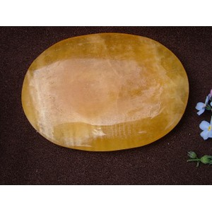 Orange Calcite Palmstone