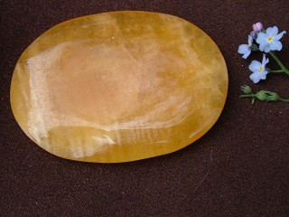 Orange Calcite Palmstone