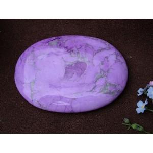 Purple Howlite Palmstone