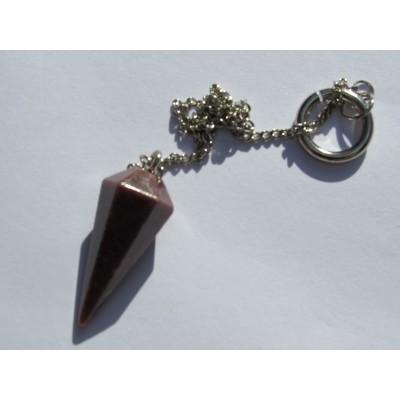Rhodonite Pendulum