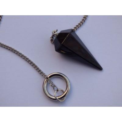 Black Obsidian Pendulum