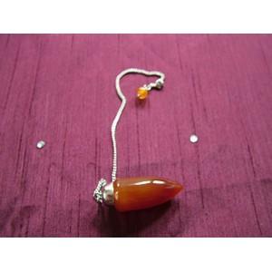Carnelian Long Drop Pendulum