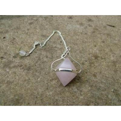 Rose Quartz Double Ended Pendulum