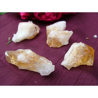 Small Citrine Point