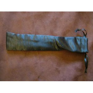 Black Satin Wand Pouch