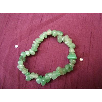 Green Aventurine Gemchip Bracelet