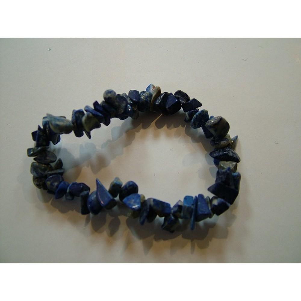 Lapis Lazuli Gemchip Bracelet