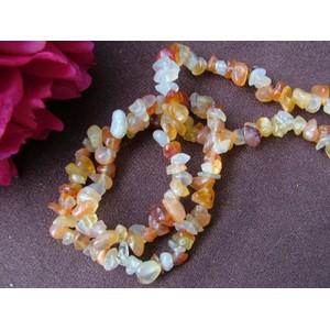 Carnelian 20 inch Gemchip Necklace