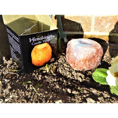 Himalayan Crystal Salt Lamp Candle Holder