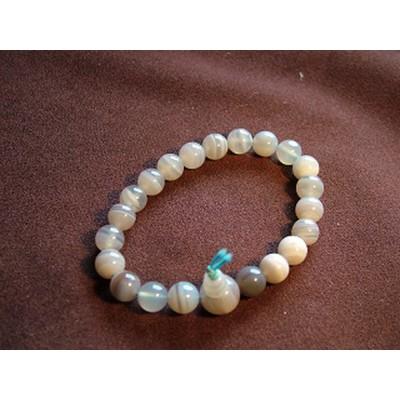 Agate Powerbead Bracelet