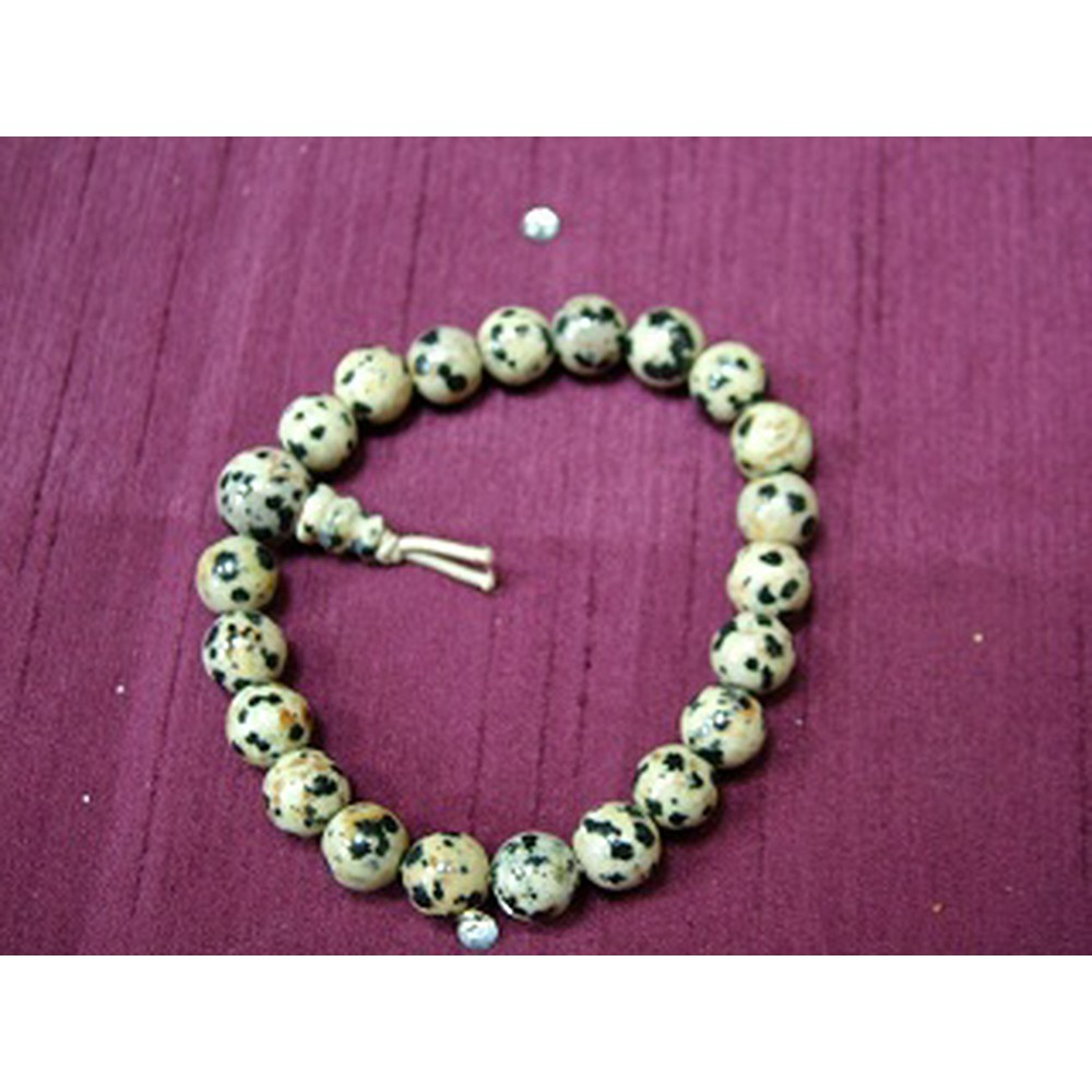 Dalmation Jasper Powerbead Bracelet