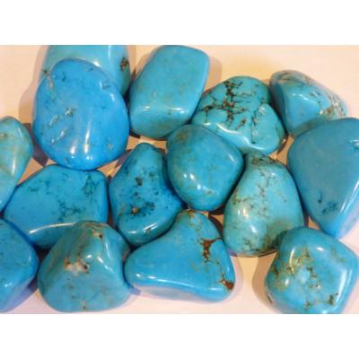 Blue Howlite Tumblestone