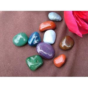 Agate Coloured Tumblestone